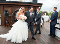 Philadelphia Wedding on The Moshulu ~ Denise & Zach